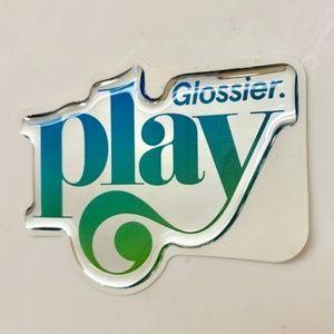 Glossier Makeup - Glossier Play Colorslide Gel Eye Pencil & Pink Bag